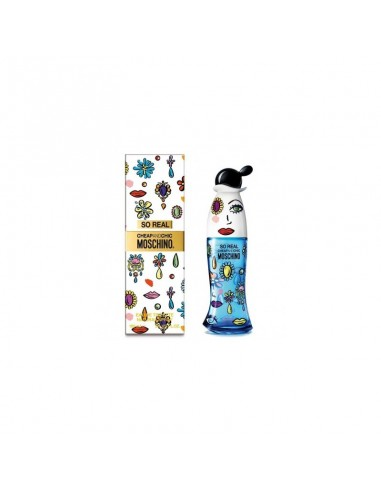 Profumo donna Moschino chip and chic So Real 100ml EDT vapo spray