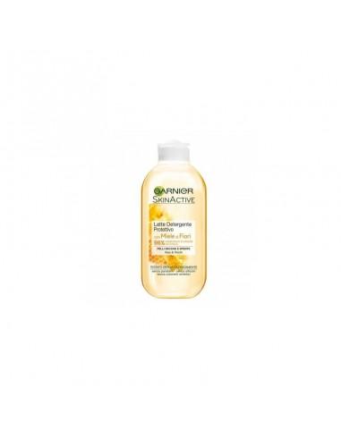 Garnier Skin Active Latte Detergente Protettivo Con Miele Di Fiori 200 ml