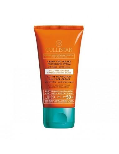 Collistar Crema Viso Solare Protezione Attiva SPF50 50 ml