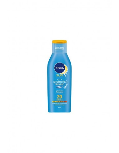 Nivea Latte Solare Rinfrescante Protect e Refresh SPF 20 200 ml
