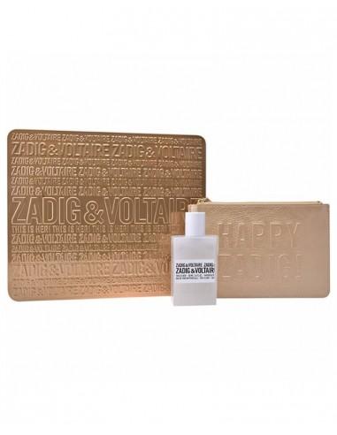 Confezione Zadig & Voltaire Happy Zadig 50 ml profumo edp + pochette