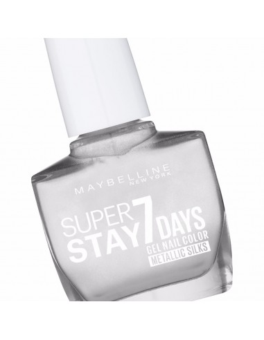 Maybelline SuperStay 7 Days  881 Silver Satin 10ml