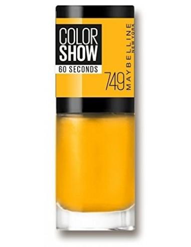 Maybelline Color Show Smalto -749 Electric Yellow 7ml