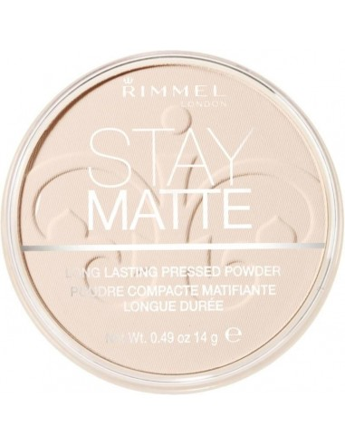 Rimmel Stay Matte Cipria - 001 Transparent