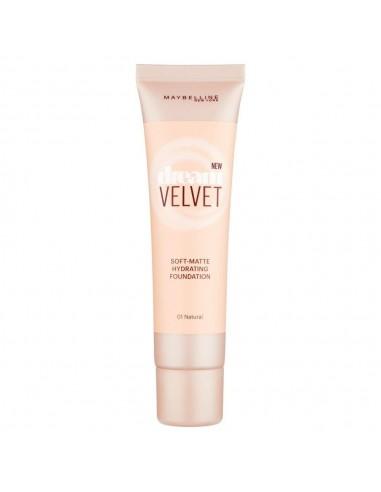 Maybelline Dream Velvet Fondotinta Matte 30ml 01- Natural Ivory