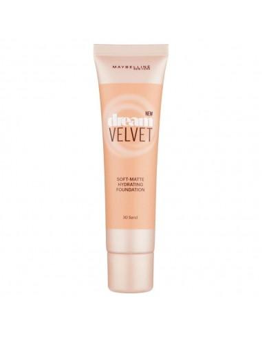 Maybelline Dream Velvet Fondotinta Matte 30ml 30- Sand
