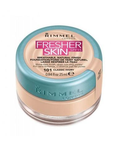 Rimmel Fresher Skin Fondotinta 101 Classic Ivory