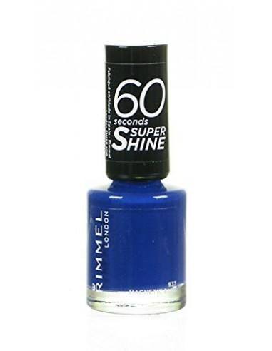 Rimmel 60 Seconds Super Shine Smalto Unghie 8ml 937 Magnetic Blue