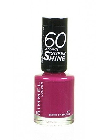 Rimmel 60 Seconds Super Shine Smalto Unghie 8ml 931 Berry Fabulous