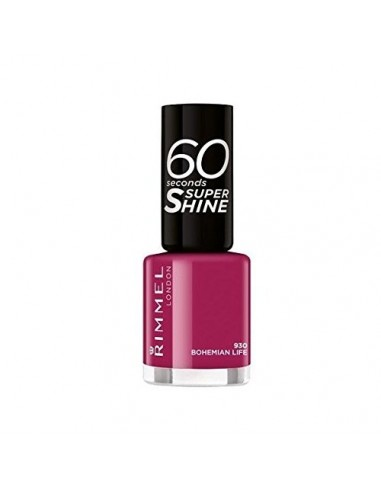 Rimmel 60 Seconds Super Shine Smalto Unghie 8ml 930 Bohemian Life
