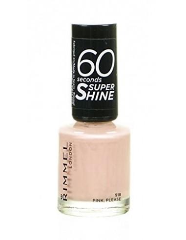 Rimmel 60 Seconds Super Shine Smalto Unghie 8ml 918 Pink