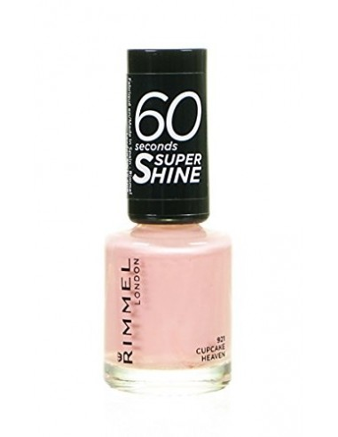 Rimmel 60 Seconds Super Shine Smalto Unghie 8ml 921 Cupcake Heaven