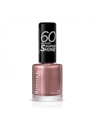 Rimmel 60 Seconds Super Shine Smalto Unghie 8ml 510 Euphoria510 Euphoria 510 Euphoria