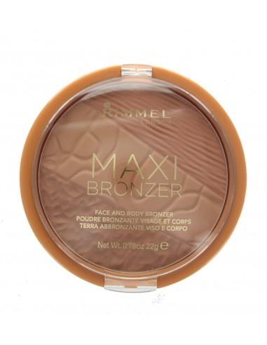 Rimmel Maxi Bronzer Terra abbronzante viso e corpo 002 Medium