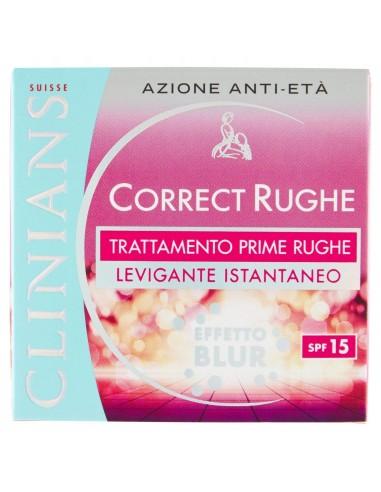 Clinians Correct Rughe Trattamento prime rughe al melograno SPF15 50 ml
