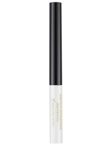 Max Factor Colour X-Pert eyeliner waterproof 00 Metallic White