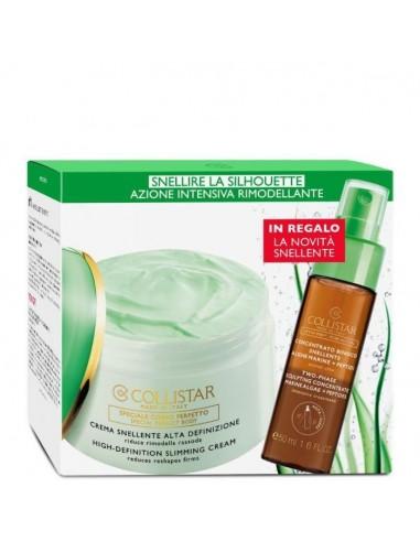Collistar crema snellente alta definizione 400 ml + bifasico snellente 50 ml