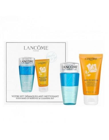 Lancome Kit Beauty to go bifasico struccante 75 ml + mousse detergente al miele 50 ml