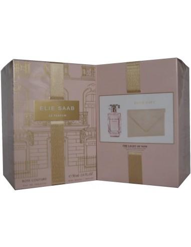 Elie Saab Rosa Couture Gift Set 50 ml eau de toilette + Mine Pochette