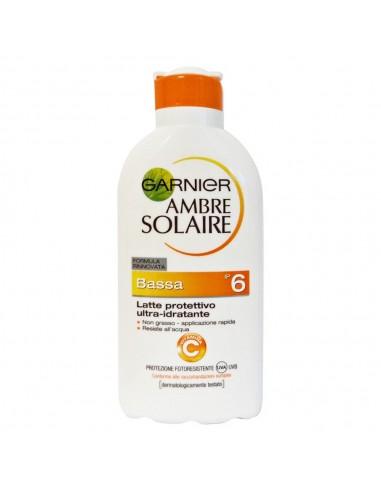 Garnier Ambre Solaire Latte Protettivo ultra idratante SPF6 200 ml