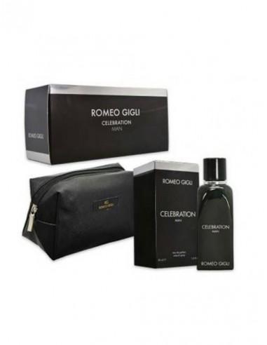 Confezione Romeo Gigli Celebration Man 30 ml edp + pochette