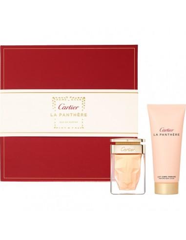 Confezione Cartier La Panthère 50 ml edp + 100 ml shower gel