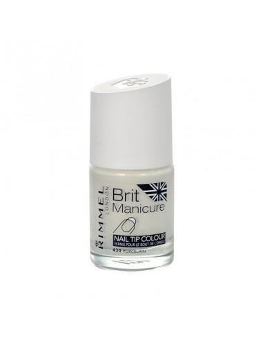 Rimmel Brit Manicure smalto per lunette con pennellino 430 Porcelain