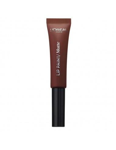 L'Oreal Paris Infaillible lip paint matte rossetto 213 Stripped Brown