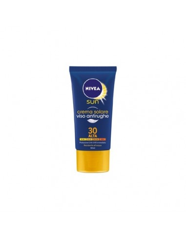 Nivea crema solare viso antirughe spf 30 50 ml