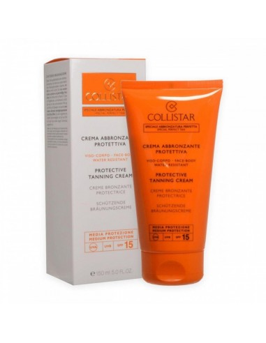 Collistar viso corpo crema abbronzante protettiva spf 15 150 ml