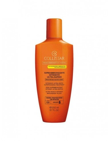 Collistar superabbronzante intensivo ultra-rapido spf 6 200ml