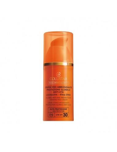 Collistar crema viso abbronzante protezione globale  spf 30 50 ml