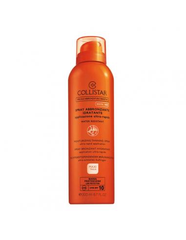 Collistar spray abbronzante idratante spf 10 200 ml